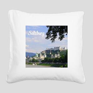 Salzburg souvenir Square Canvas Pillow
