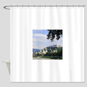 Salzburg souvenir Shower Curtain