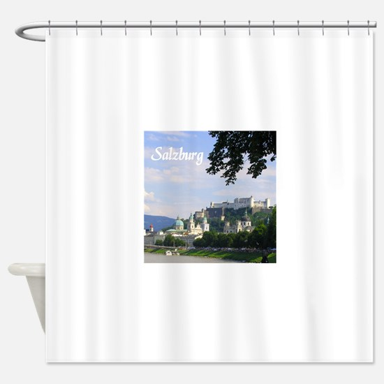 Salzburg souvenir Shower Curtain