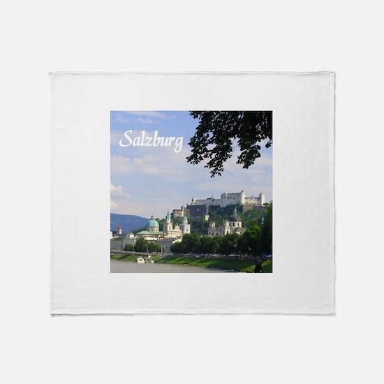 Salzburg souvenir Throw Blanket