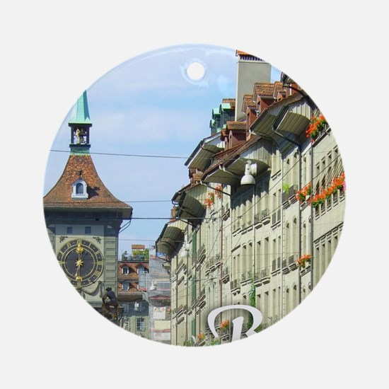 Bern Switzerland souvenir Ornament (Round)