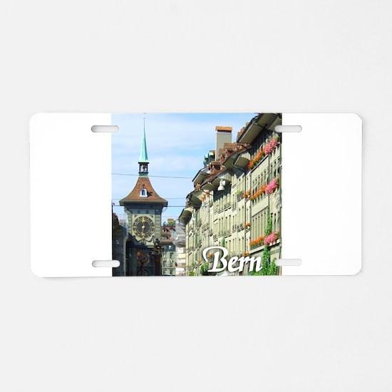 Bern Switzerland souvenir Aluminum License Plate