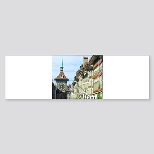 Bern Switzerland souvenir Bumper Sticker