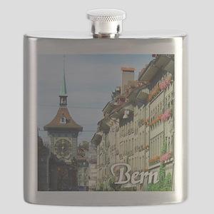 Bern Switzerland souvenir Flask