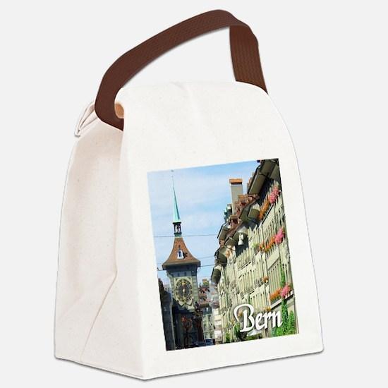 Bern Switzerland souvenir Canvas Lunch Bag