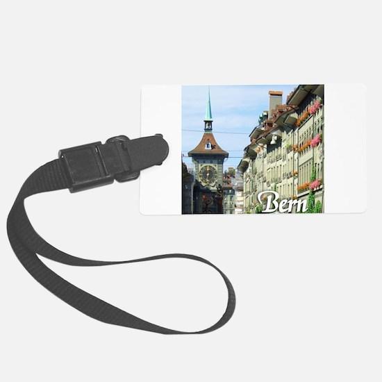 Bern Switzerland souvenir Luggage Tag