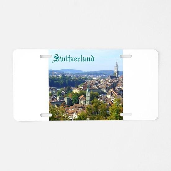 Switzerland Swiss souvenir Aluminum License Plate
