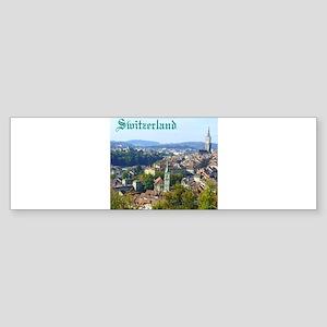 Switzerland Swiss souvenir Bumper Sticker