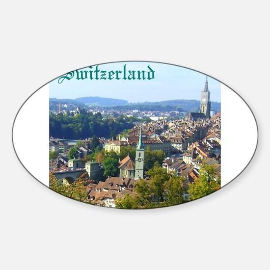 Switzerland Swiss souvenir Decal