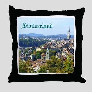 Switzerland Swiss souvenir Throw Pillow