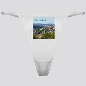 Switzerland Swiss souvenir Classic Thong