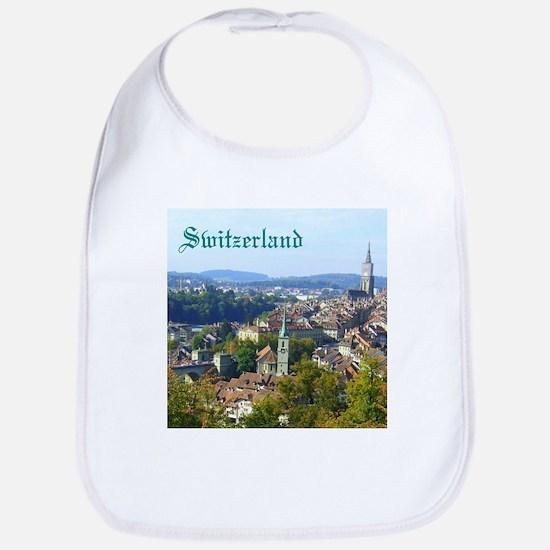 Switzerland Swiss souvenir Bib