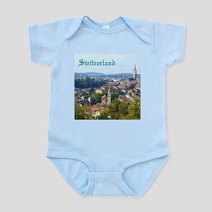 Switzerland Swiss souvenir Body Suit