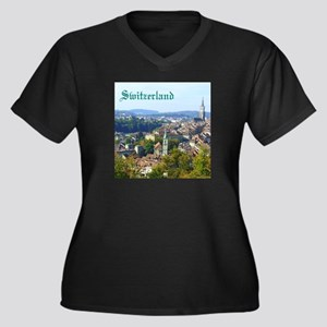 Switzerland Swiss souvenir Plus Size T-Shirt