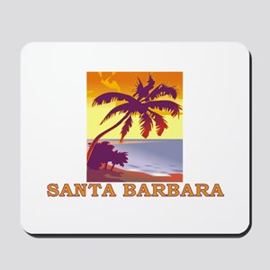 Santa Barbara, California Mousepad