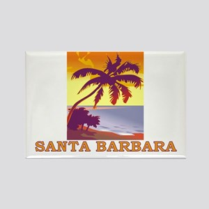 Santa Barbara, California Rectangle Magnet