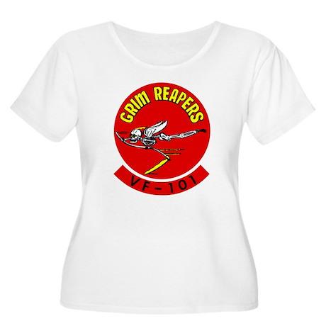 VF 101 Women's Plus Size Scoop Neck T-Shirt