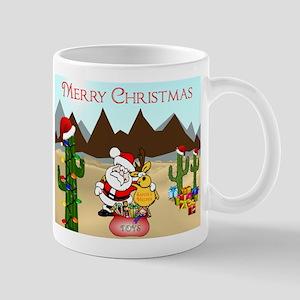 Christmas In The Desert Mugs