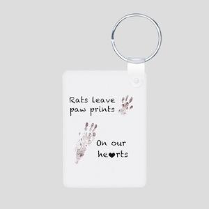 Paw Prints Keychains
