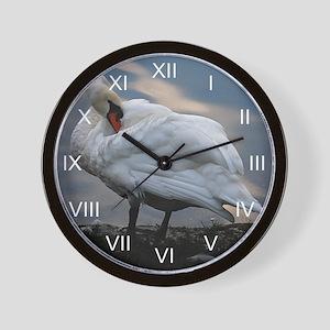 Mute Swan Pre-Interlude Wall Clock