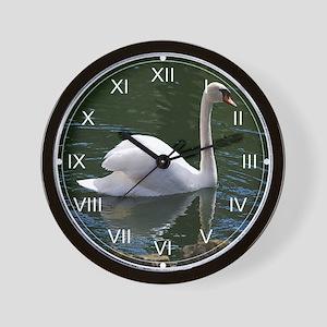Mute Swan Summer Wall Clock