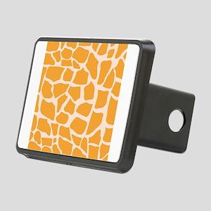Orange Giraffe pattern Hitch Cover