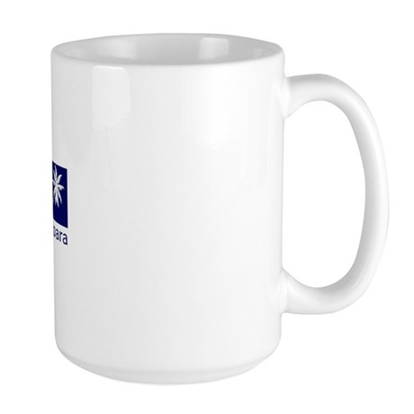 Santa Barbara, California Large Mug