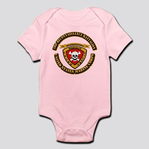 SSI - 3rd Reconnaissance Bn With Text USMC Infant