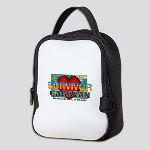 Survivor Cagayan Neoprene Lunch Bag