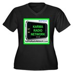 Karmaradionetwork.Com Plus Size T-Shirt