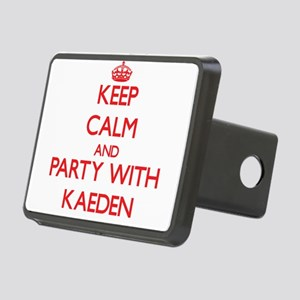 Keep Calm and Party with Kaeden Hitch Cover