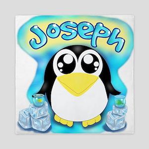 Joey Penguin Queen Duvet