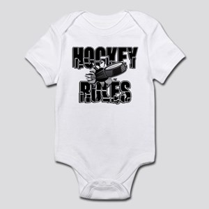 Hockey Rules Infant Bodysuit