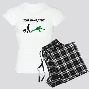 Custom Baseball Fielder Evolution (Green) pajamas