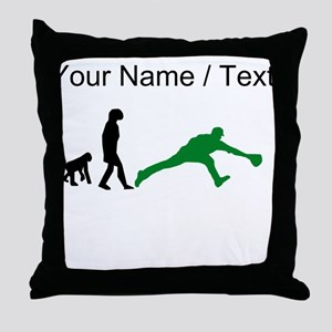 Custom Baseball Fielder Evolution (Green) Throw Pi