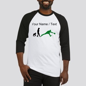 Custom Baseball Fielder Evolution (Green) Baseball