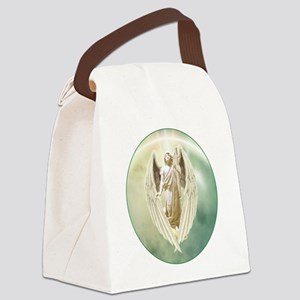 Angel Gabriel Canvas Lunch Bag