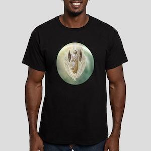 Angel Gabriel Men's Fitted T-Shirt (dark)