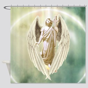 Angel Gabriel Shower Curtain