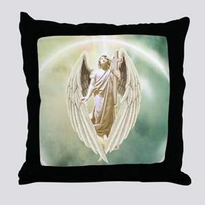 Angel Gabriel Throw Pillow