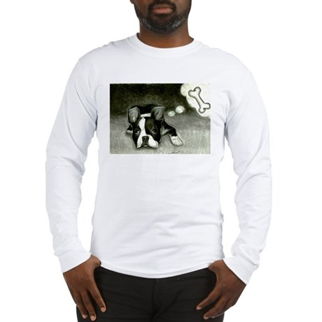 boston terrier mr. bungles Long Sleeve T-Shirt