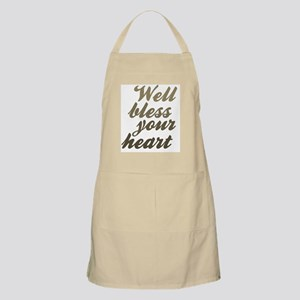 Well Bless Your Heart Apron