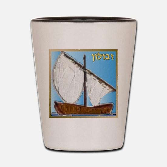 12 Tribes Israel Zebulun Shot Glass