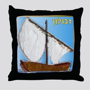 12 Tribes Israel Zebulun Throw Pillow