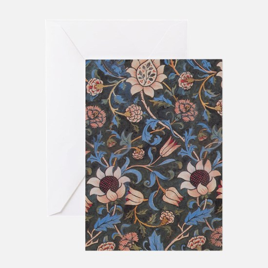William Morris Evenlode Patttern Greeting Cards