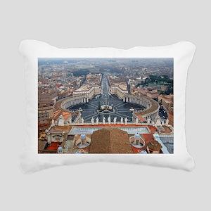 St. Peter's Basilica Rectangular Canvas Pillow