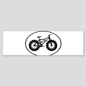 fatbike AK black Bumper Sticker
