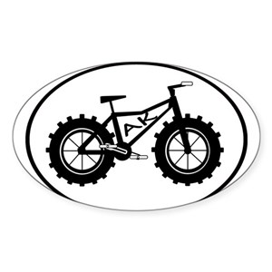 Bike Alaska Stickers Cafepress