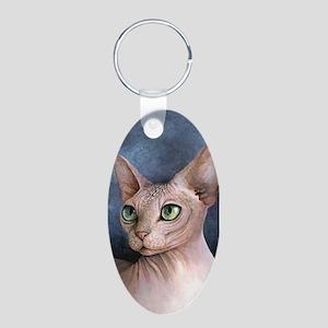 Cat 578 Sphynx Keychains