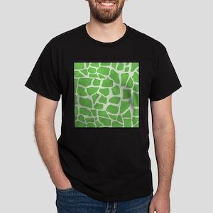 Green Giraffe pattern T-Shirt